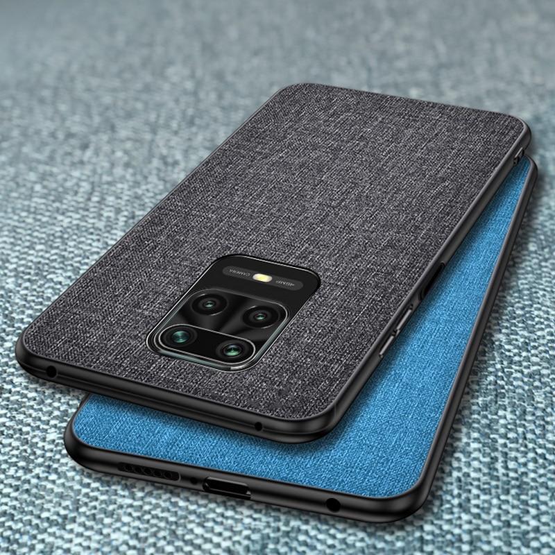 Case For Xiaomi Mi 9T Pro 9 SE A3 A2 Lite A1 Note 10 Lite Slim Fabric Skin Back Cover For Redmi Note 9 9s 8T 8 7 Pro 7A 8A 9A 9C(China)