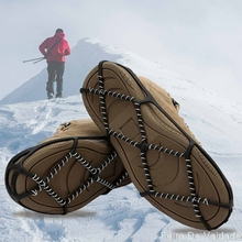 Spike Cover Cleats-Chain Boots Claws Shoes Crampons Ice-Gripper Anti-Slip climbing Outdoor