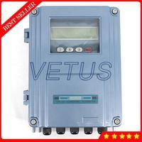 TDS 100F1 S2 Festen Ultraschall durchflussmesser Durchflussmesser für Flüssigkeit Wasser Öl DN15 100mm mit S2 Kleine Größe Wandler-in Durchflussmesser aus Werkzeug bei