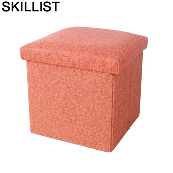 Sgabello Living Room Fauteuil Gonflable Banquinho Clothing Store Toilet Stool Poef Change Shoes Pouf Taburete Storage Chair