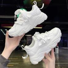 White Sneakers Harajuku Shoes 2020 Women Vulcanize