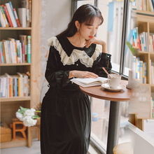 Новая модная женская одежда винтажное бархатное платье платья зимнее платье