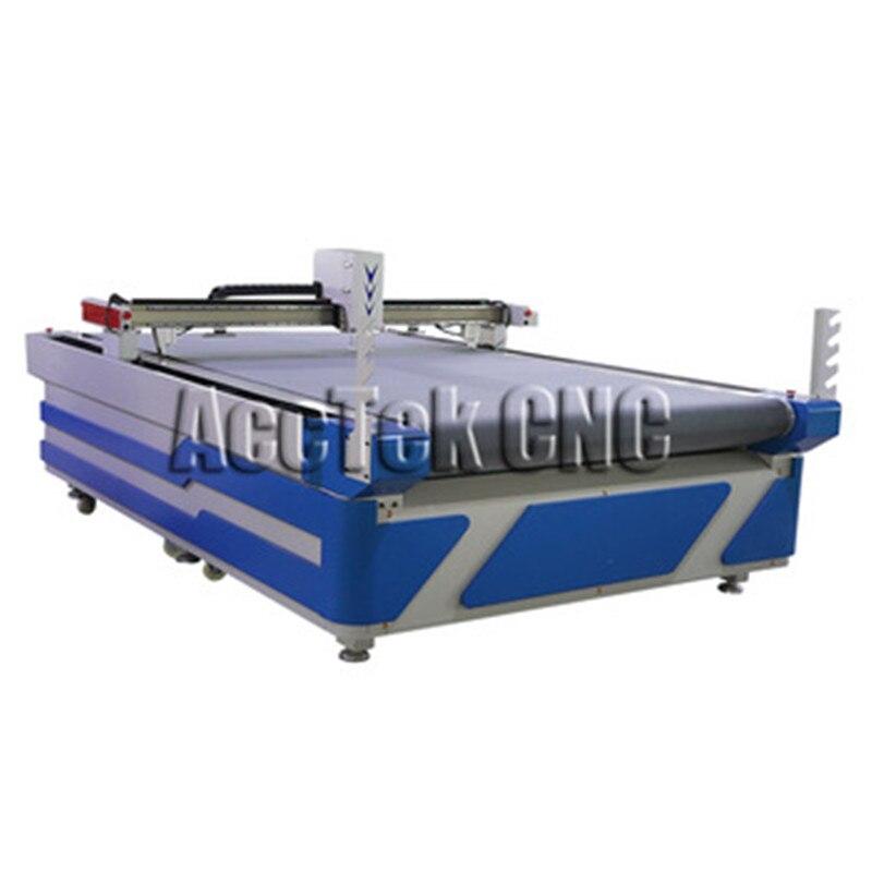 Jinan 1625 Cnc Knife Cutter Kraft Paper Industrial Cardboard Cutting Machine