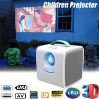 Mini proyector Q2 LED portátil Mini Home Theater proyectores LCD 30 lúmenes 1080P niños educación proyector cine Beamer
