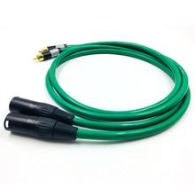 цена на Hifi MCINTOSH 2328  2 XLR Male to Female Balance Audio Cable High performance 3 Pin XLR Connectors Microphone XLR Cable