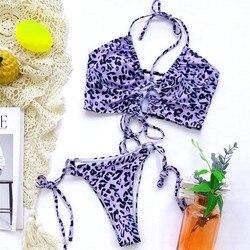 Stroje kąpielowe w stylu Vintage z nadrukiem stroje kąpielowe w stylu Vintage stroje kąpielowe w stylu Vintage stroje kąpielowe w stylu brazylijskim Bikini usztywniane Monokini stringi Bikini 6