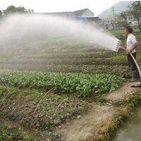 Agrícola aspersor riego bomba de agua rociador atomizador de agua verduras Riego Jardín aspersores E11338