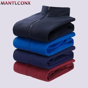 Image 5 - MANTLCONX M 9XL Fleece Jacket Men Large Size Jacket Coat Men Outerwear Big Size Outdoor Warm Jackets and Coats for Men Winter
