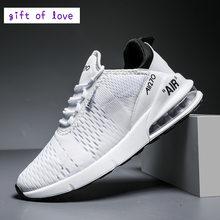 High-end marka hava yastığı A, I, R örgü rahat çift ayakkabıları erkekler ve kadınlar Sneakers