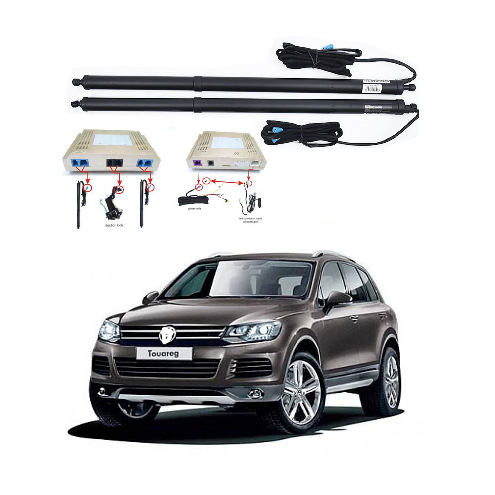 New Electric Tailgate Refitted For VW TOUAREG 2012 -2016 Tail Box Intelligent Electric Tail Door Power Tailgate Lift Lock