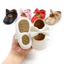 Shoes Toddler Baby-Girl Princess Kids Children New Newborn PU Bow-Knot Hot-Sale