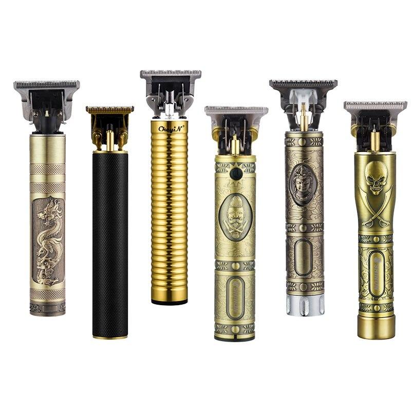 USB rechargeable ceramic Trimmer barber Hair Clipper Machine hair cutting Beard Trimmer Hair Men haircut Styling tool 1