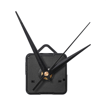 1pcs Black Hands DIY Quartz Black Wall Clock Movement Mechanism Repair Parts Silent