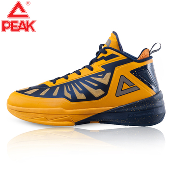 PEAK Lightning III Men's Basketball Shoes Street Actual Combat High Top Sport Basketball Shoes Indoor Team Training Sneakers