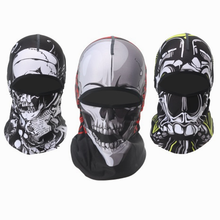 2020 COOL SKULL Face Shield Bland on Top Outdoor Sports Scarf Sport Face Mask Bike Headband Hat Cycling Headgear Bandana