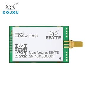 Image 1 - 1 واط كامل دوبلكس TCXO 433 ميجا هرتز rf وحدة ebyte E62 433T30D طويلة المدى لاسلكية الإرسال والاستقبال iot الارسال والاستقبال