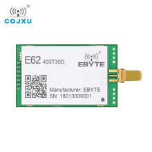1 ワット全二重 tcxo 433 mhz rf モジュール ebyte E62 433T30D 長距離ワイヤレストランシーバ iot 送信機と受信機