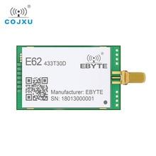 1W Full Duplex TCXO 433MHz RF โมดูล ebyte E62 433T30D ยาวไร้สาย IOT เครื่องส่งสัญญาณและตัวรับสัญญาณ