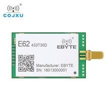1W completo y doble TCXO 433MHz Módulo de radiofrecuencia ebyte E62 433T30D transceptor inalámbrico de largo alcance iot transmisor y receptor