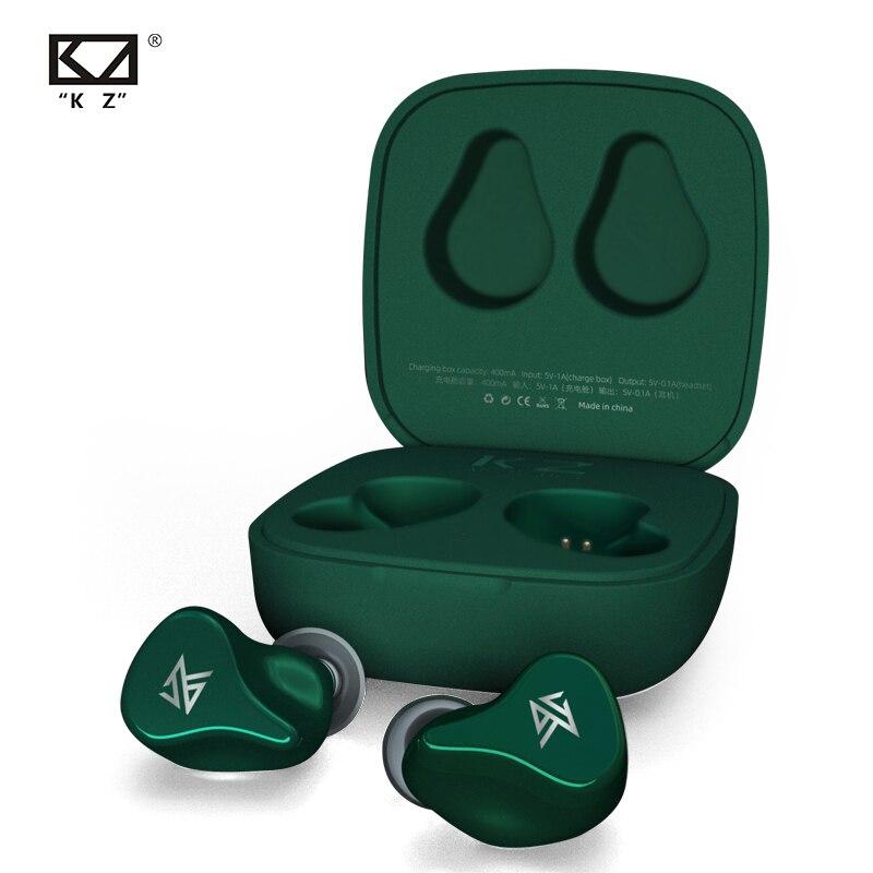 Auriculares inalámbricos KZ Z1 TWS True KZ con Bluetooth 5,0, auriculares dinámicos 1DD con cancelación de ruido, Control táctil KZ S1 S1D S2 ZSX 2019 nuevo portátil de EVA duro Estuche de transporte para JBL Charge3 cargo 3 inalámbrico Bluetooth altavoz cubierta/bolsa de almacenamiento (con cinturón)