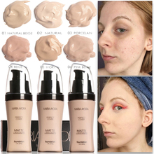 Face Foundation Cream Concealer Brighten Waterproof Full Coverage Professional Makeup Facial Matte Base Make Up miss rose makeup concealer full cover face foundation cream natural brighten contouring cosmetics women beauty face base makeup
