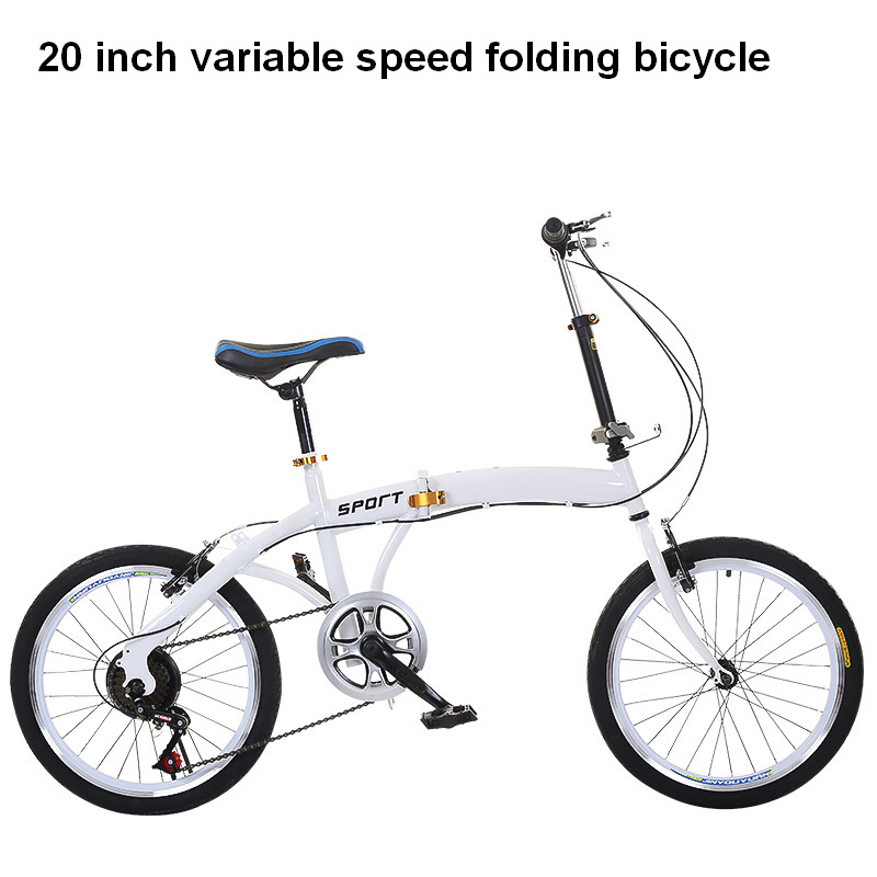foldable bicycle 20 inch mountain <font><b>bike</b></font> Children bicycle Travel <font><b>equipment</b></font> portable bicycle image