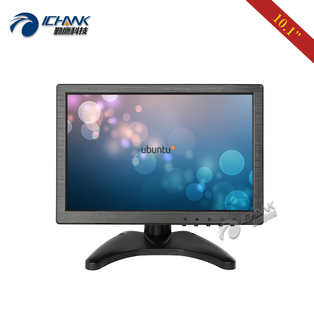 ZB101JC V59L/10.1 inch 1280x800 USB VGA HDMI Support Linux Ubuntu Raspbian Debian Four wire Resistance Touch Monitor LCD Screen