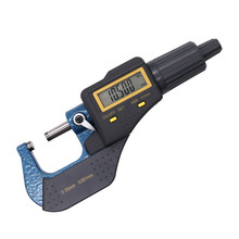 Electronic Outside Micrometer 0-25mm/0.001mm LCD Digital Gauge Vernier Caliper