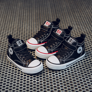 Image 2 - Children Winter Shoes 2020 New Autumn Winter Velvet Kids Sneakers Brand Kids Shoes for Boys Girls Casual Child High Top Boots