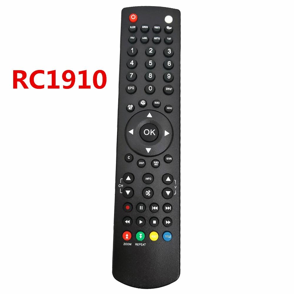 RC1910 RC1912 NEWremote for Toshiba SANYO HITACHI TECHWOOD ORION Celcus Polaroid Telefunken Control LC-32SH130K LC24DV510K