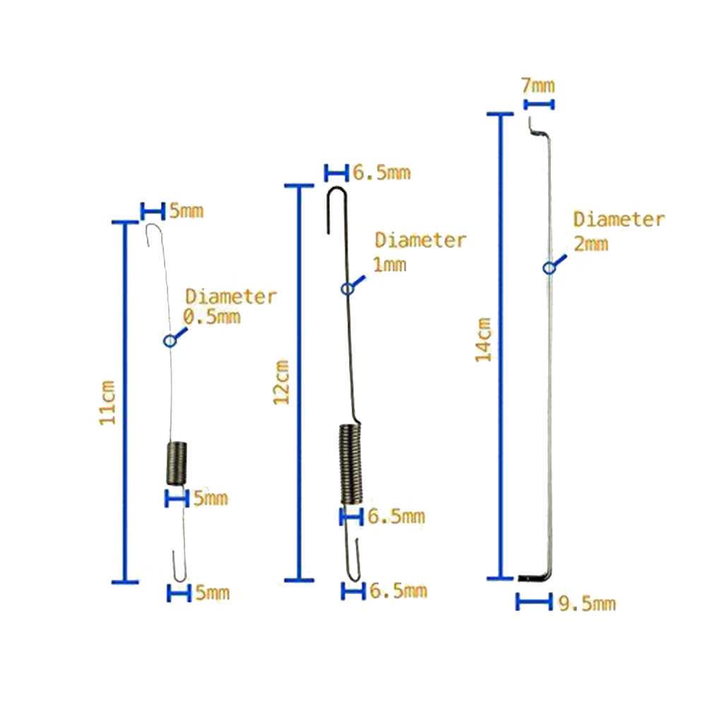 3 Sets Throttle Governor Link Rod Spring For Honda GX140//GX160//GX200 5.5hp 6.5hp