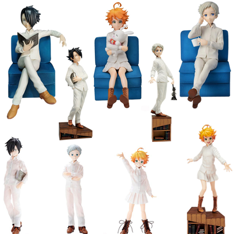 The Promised Neverland Norman Emma Ray Action Figure Anime PVC Adult Action Figures Toys Anime Figures The Promised Neverland