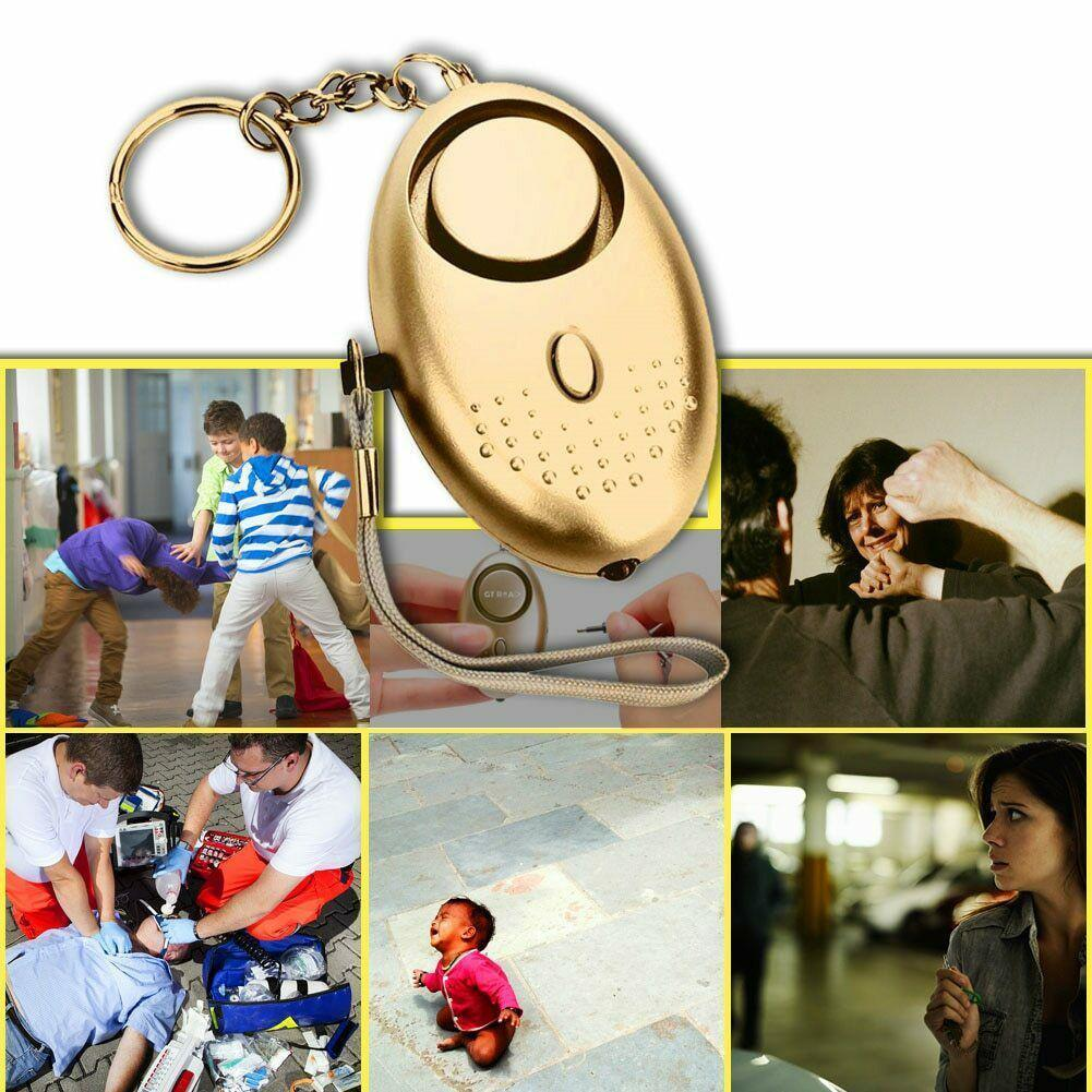 2020 New Emergency Alarms For Women Kids Elderly Personal Light With Alarm LED C6S2