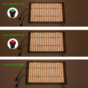 Image 3 - Dimmable Turn ON/OFF switch for CREE XPE UV IR Quantum Samsung led lm301B board 120W 240W QB288 grow light with Meanwell Driver