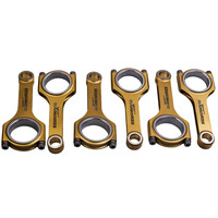 135mm Conrod For BMW 3 Series E36 1990 2000 325i 328i Performance Titanizing Connecting Rods Bielle 800+ HP ARP Bolts