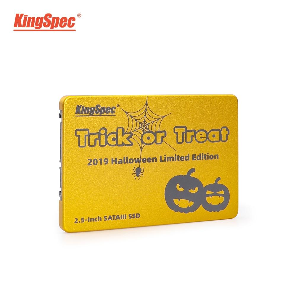 KingSpec SSD 480gb SSD Hdd SATA III 500gb Ssd 960GB 1tb SSD Internal Solid State Drive Gold Metal For Desktop Laptop PC Gift