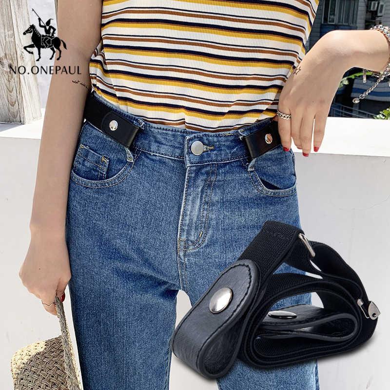 NO.ONEPAULผู้หญิงใหม่หัวเข็มขัด-ฟรีPunkสไตล์แฟชั่นกางเกงยีนส์เข็มขัดSlimเอวเรียบง่ายป่าชุดเยาวชนแนวโน้มเข็มขัด