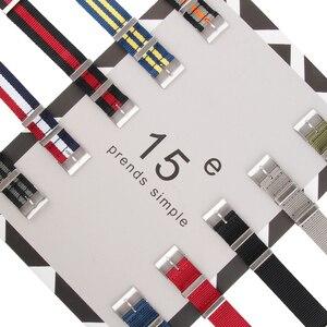 Image 4 - Dây Nylon cho Hamilton Thông Minh Gear Dây đồng hồ Ban Nhạc Vòng Tay Đeo Tay Thay Thế cho Đồng Hồ NATO Phong Cách 19mm 20mm 21mm 22mm