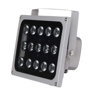 Image 4 - 12 v 15 led 적외선 조명 램프에 대 한 밤 비전 금속 채우기 빛 cctv 보안 액세서리 방수 ip65