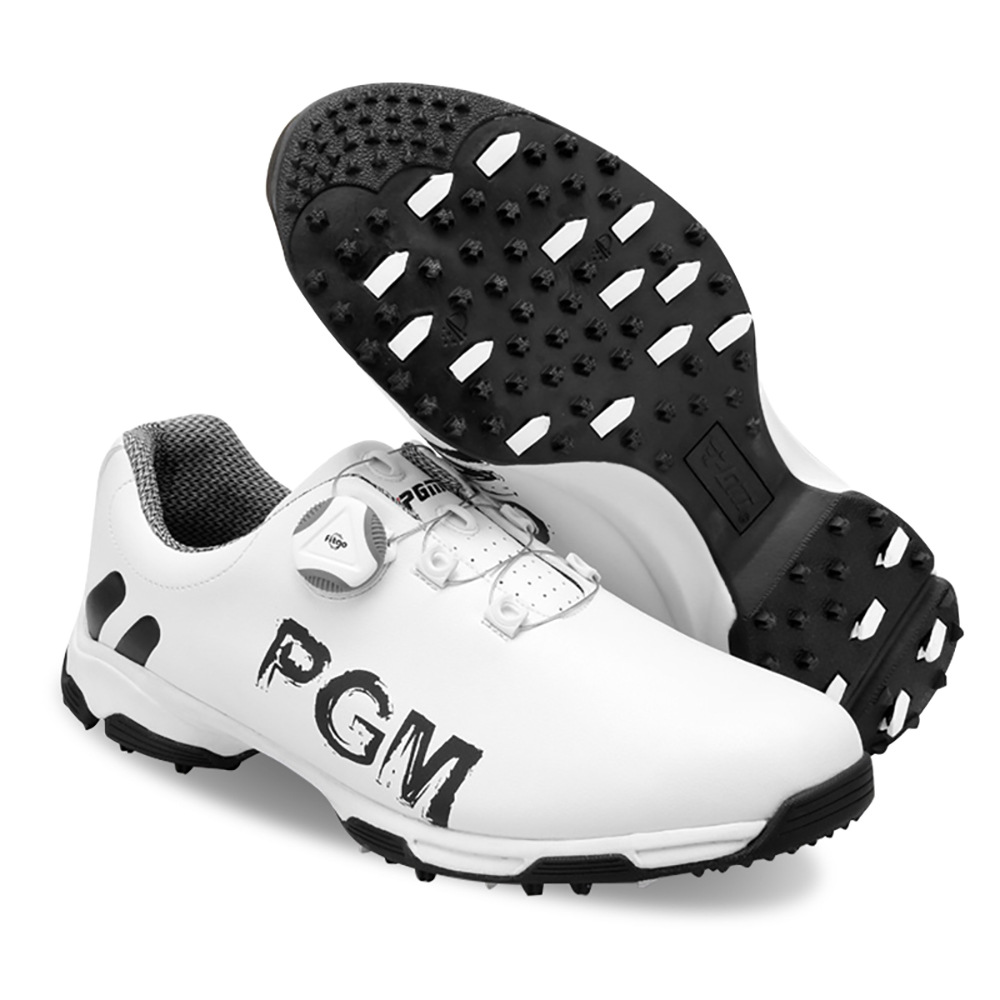 Shoes Golf Shoelace for Golfer New Sports Waterproof Men Pgm Patented Rotate Buckle Multi Colors Soft Anti Slip New 1pair
