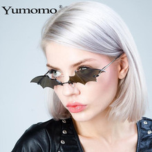 Vintage fashion Bat shaped sunglasses Women Luxury design glasses classics Men Sun Glasses lentes de sol hombre/mujer