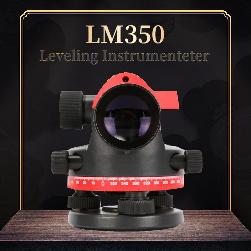 UNI-T LM350 Automatic Leveling Instrument High Precision 32x Automatic Anping Dustproof Water Level Meter Range 120M