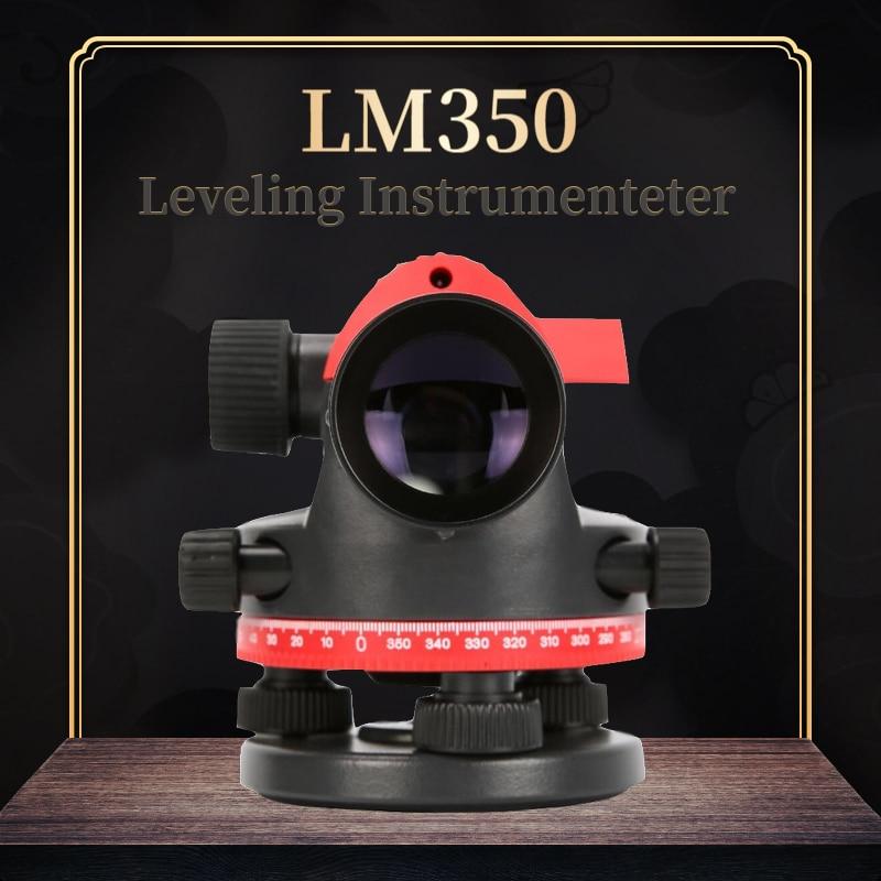 UNI-T LM350 Instrument de nivellement automatique haute précision 32x automatique Anping étanche à la poussière gamme de compteur de niveau d'eau 120M