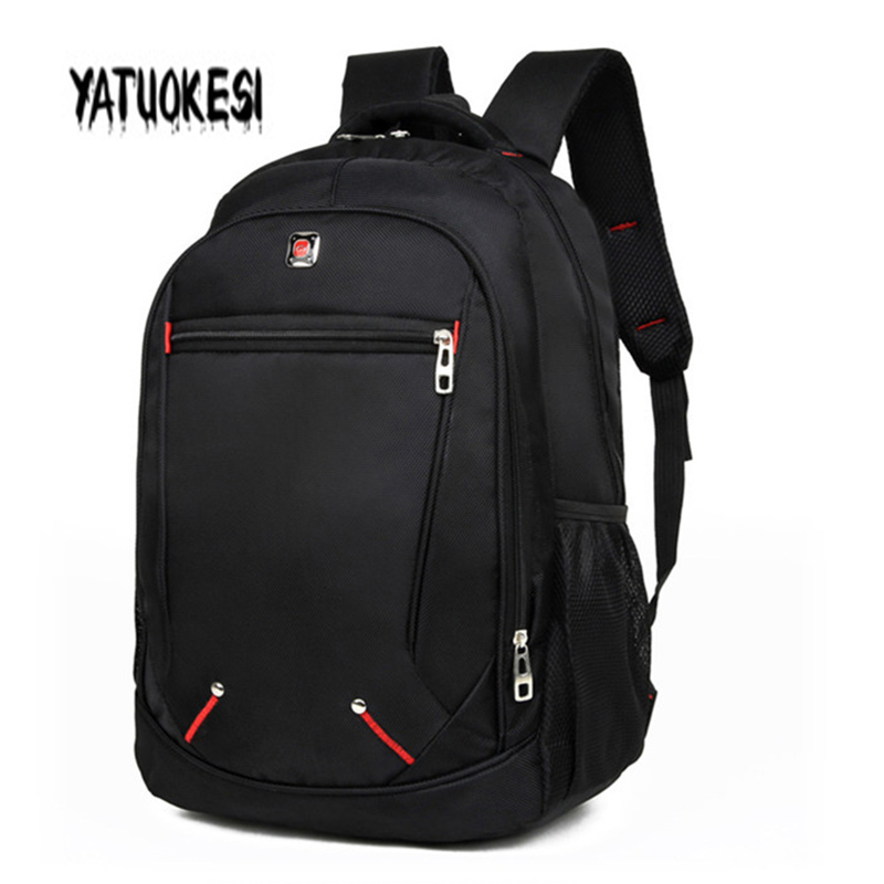 YATUOKESI  Large-capacity School Laptop Backpack For Teenagers Travel Bagpack Casual Man's Backpack Multi-functional  Simple Bag
