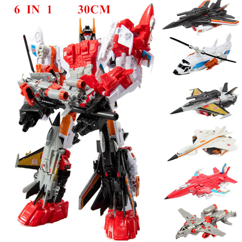 Transformers G1 combination  deformation toy Superion Military model 22cm