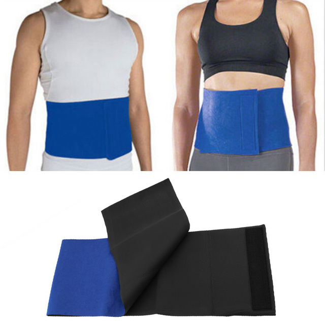 Unisex Adjustable Waist Back Support Waist Trainer Belt Sweat Utility Belt For Sport Fitness Weightlifting Tummy Slim Belt 2