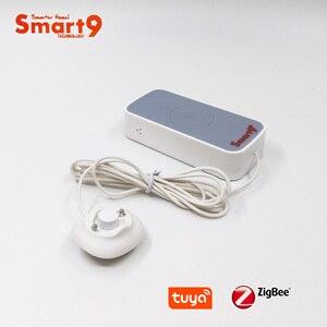 Image 2 - Smart9 ZigBee su kaçak dedektörü çalışma TuYa ZigBee Hub, sel sensörü akülü Alarm akıllı yaşam App