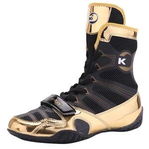 Новинка 2021, мужские кроссовки для борьбы, профессиональная боксерская обувь со шнуровкой и подошвой из телячьей кожи, удобная тренировочна...