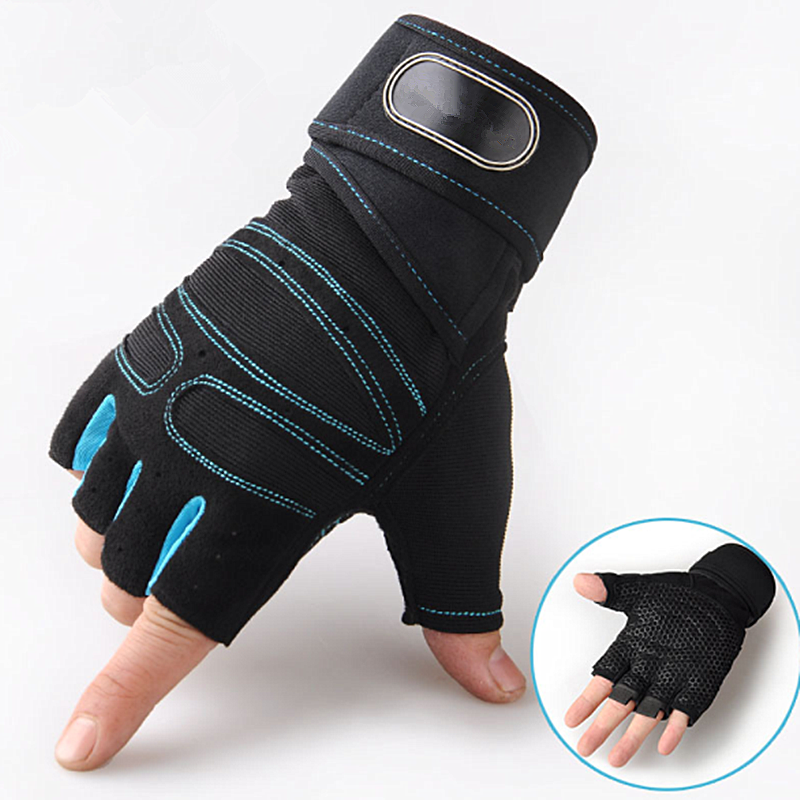 Gym-Gloves Body-Building Training Fitness Sports Exercise Women for L/XL