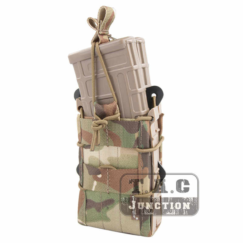 Emerson Dubbele Geweer Modulaire Mag Pouch Voor 5.56 M4 M16 AR15 SR52 P-MAGS M1A1 G3 Emersongear Molle Magazine Pouch Mag carrier
